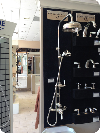 A shower set for the wealthy