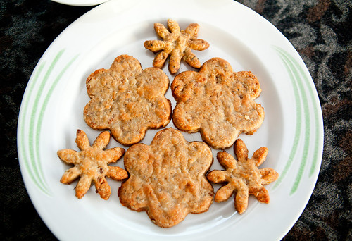 Homemade Cashel Blue Cheese Walnut Shortbread Cookies