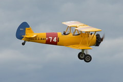 aviation, biplane, airplane, propeller driven aircraft, wing, vehicle, light aircraft, north american t-6 texan, flight, aircraft engine, air show,