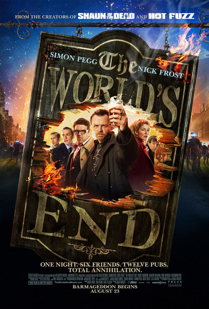 The World's End / US Poster