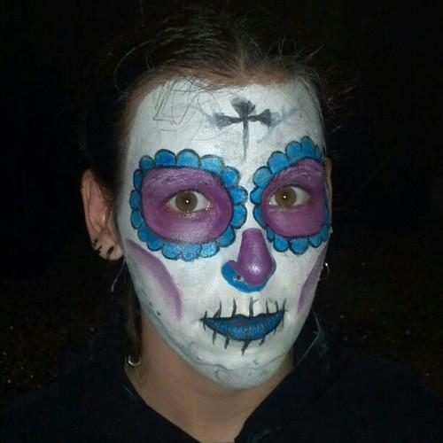 Maquillaje de halloween final