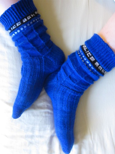 TARDIS sock bagginess
