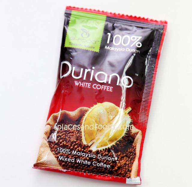 duriano coffee sachet