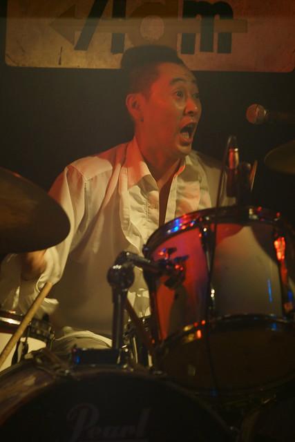 JIMISEN live at Adm, Tokyo, 01 Jun 2013. 480
