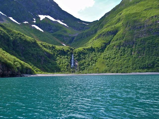 Parque Nacional de los Fiordos de Kenai. Alaska.