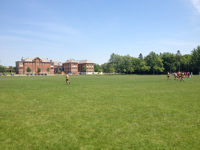 Footy at Humber College South, Toronto