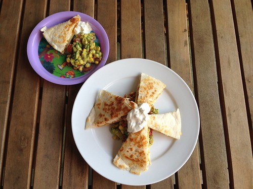 A Taste of Home Cooking: Chicken Quesadillas with Avocado ...