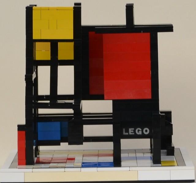 Mondrian's Cube: Back