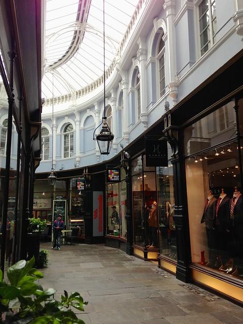 Cardiff Shopping Arcade
