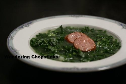 Caldo Verde (Portuguese Green Soup) 1