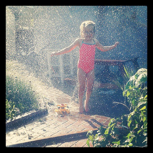 Sprinkler fun by PhylB