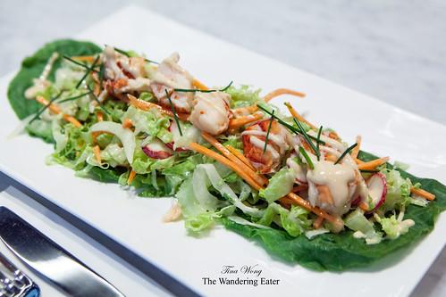 Salade de Homard & Julienne de Légumes