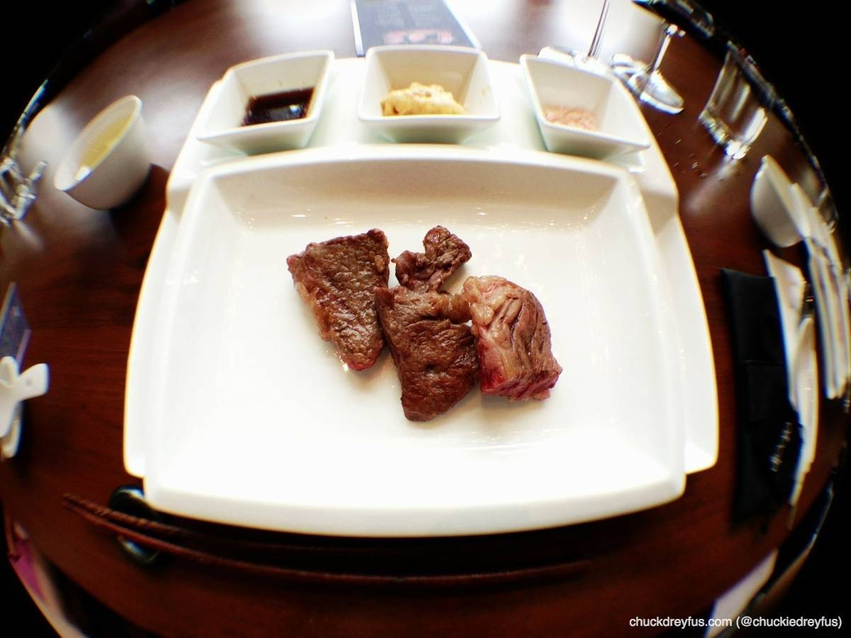 Wagyu Sirloin Steak - cooked and ready!