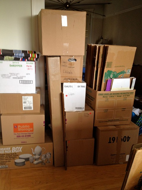 just 1% of the boxes piling up