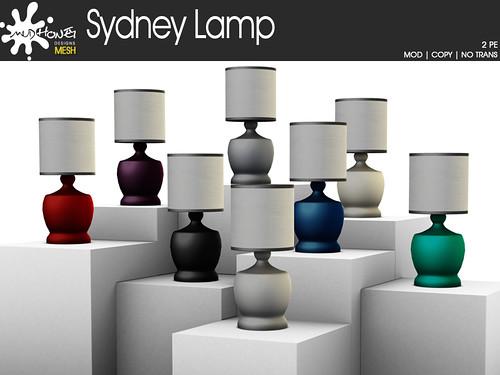 mudhoney sydney lamp ad