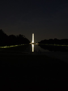 Washington Memorial at Night