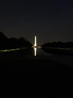 Washington Memorial at Night