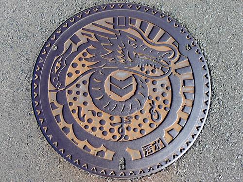 Izumo Shimane , manhole cover (島根県出雲市のマンホール)