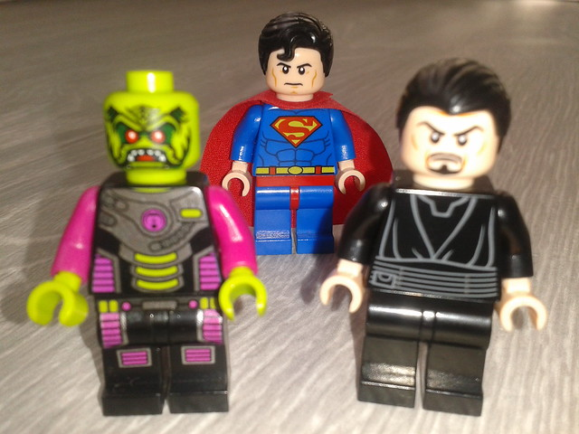 Brainiac Amp Zod Vs Superman