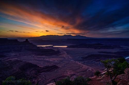 La Sal Sunrise 1 - Nikon D300