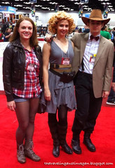Amy, River Song, & the 11th Doctor Cosplay - Gen Con 2013