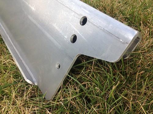 Aluminum front bumper