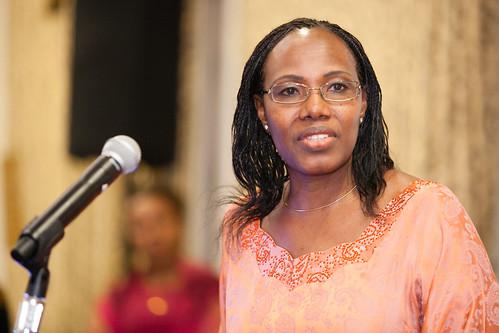 Fatoumata Nafo-Traoré at UNSE & RBM Malaria Reception in margins of 68th UN General Assembly