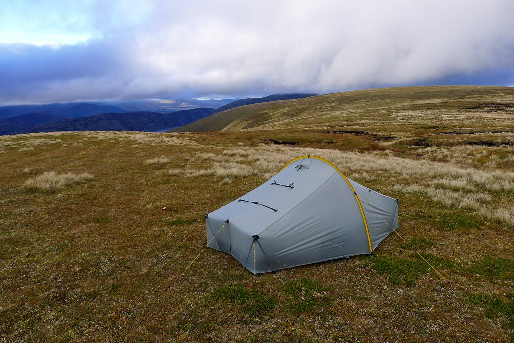 Camping above Coire Cam, East Drumochter