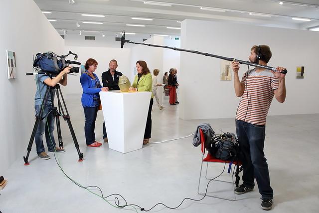 Opnames VTM-programma 'Rijker dan je Denkt?' in M - 29 september 2013