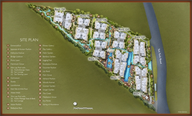 The Creek @Bukit Floorplan