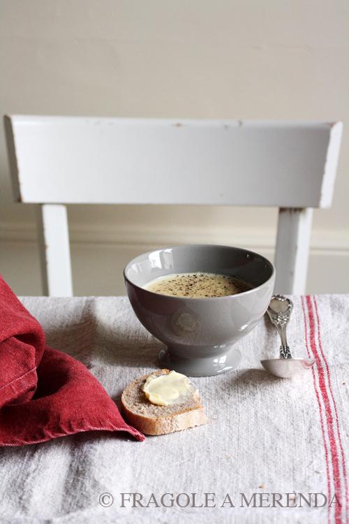 la vellutata d'aglio