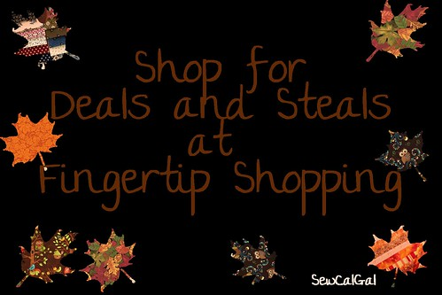 shop for deals and steals at Fingertip Shopping