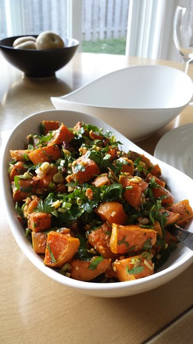 Herbs & Ginger Sweet Potatoes