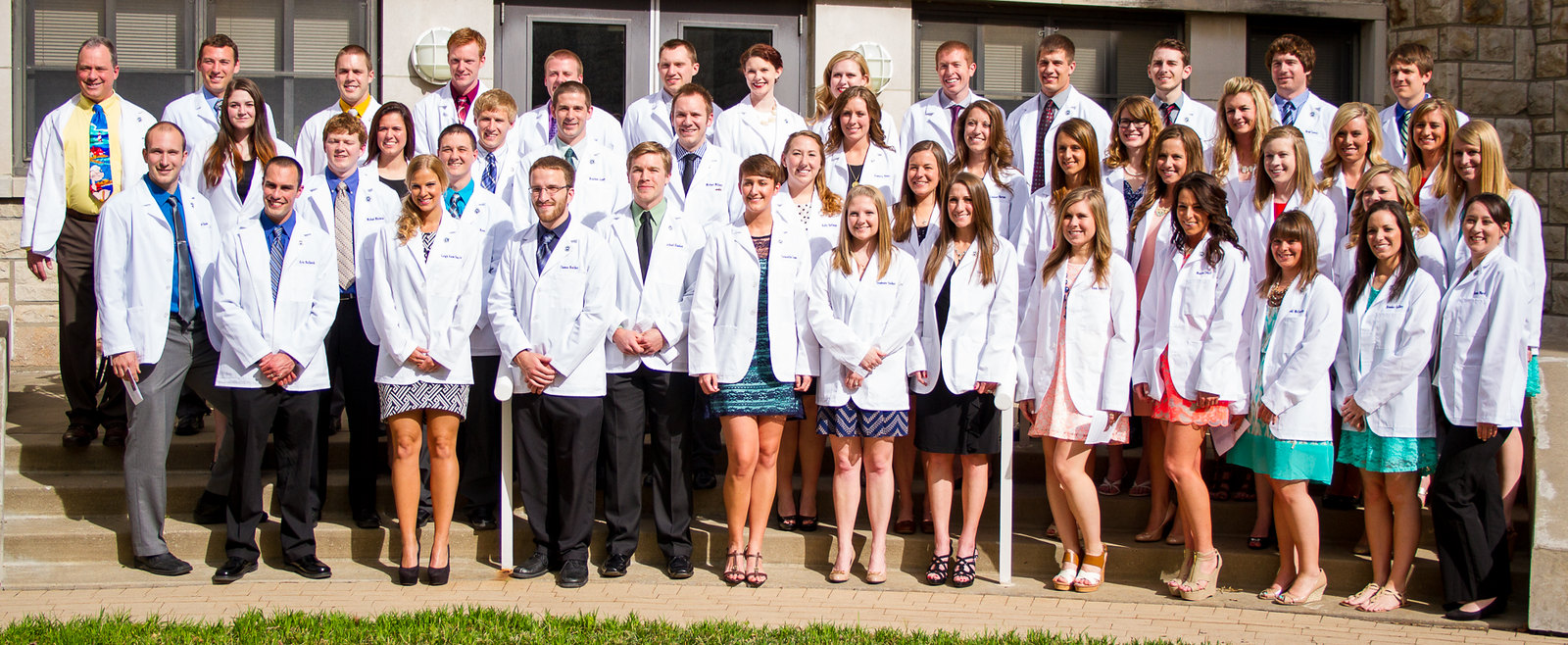 Rockhurst White Coat Ceremony