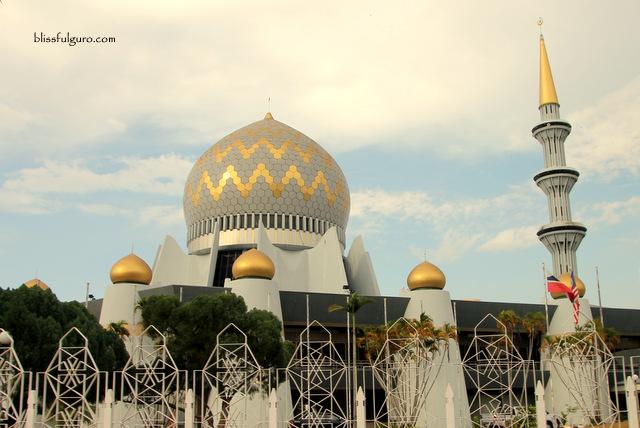 Sabah State Mosque Kota Kinabalu Malaysia