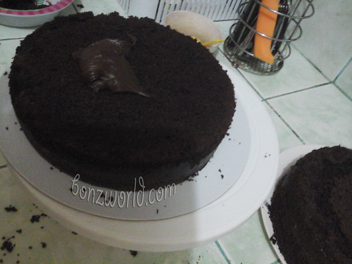 chocolate chiffon cake filling