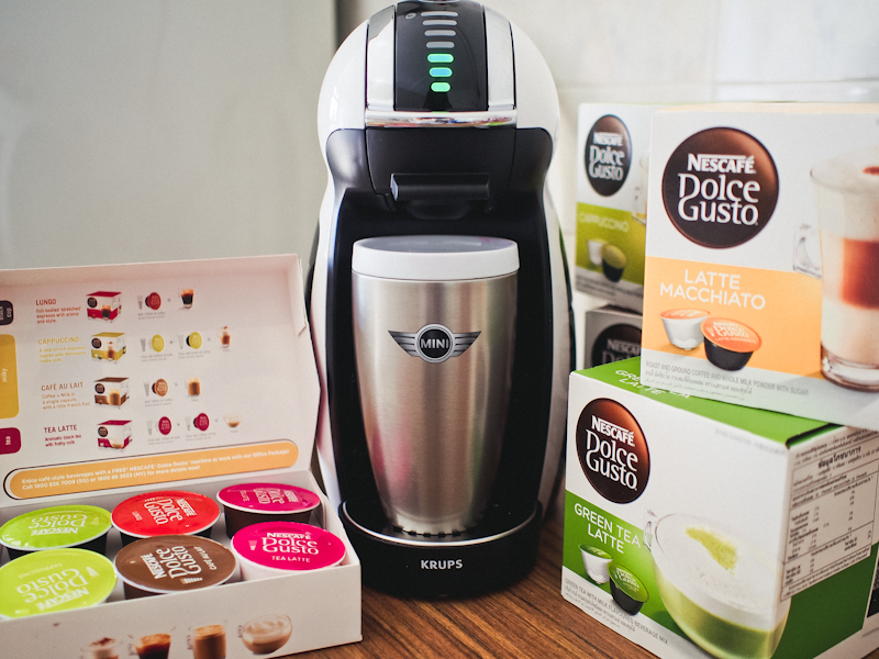 New MINI Limited Edition by NESCAFE Dolce Gusto: Special Readers Price!