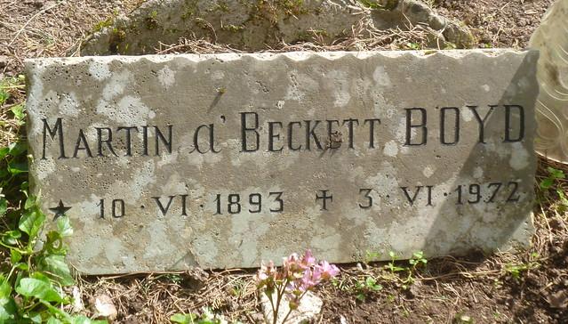 Martin Boyd headstone