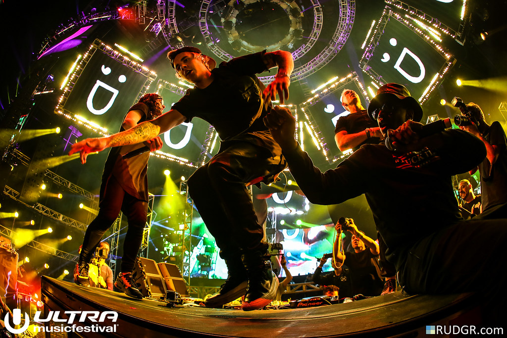 Jack Ü, Diddy & Justin Bieber @ Ultra Music Festival 2015 - Photo: © Rudgr.com