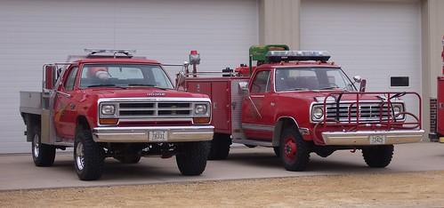 county fire clinton iowa brush ia dodge volunteer welton dept