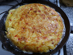 breakfast(0.0), frittata(0.0), potato pancake(0.0), quiche(0.0), meal(1.0), zwiebelkuchen(1.0), produce(1.0), food(1.0), dish(1.0), cuisine(1.0), tortilla de patatas(1.0),