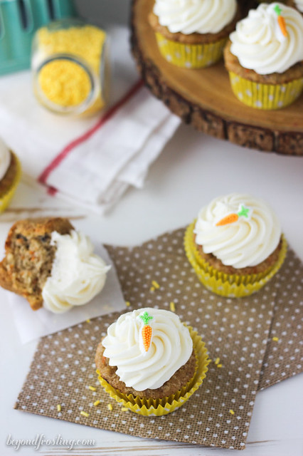 Best Ever Carrot Cake Cupcakes
