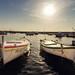 Boote im Hafen von Fažana by Dominik Schraudolf