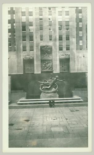 Rockefeller Plaza, wait ...
