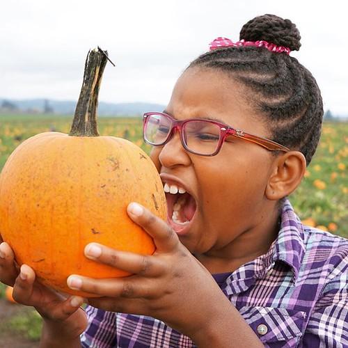Get in my mouth, pumpkin!