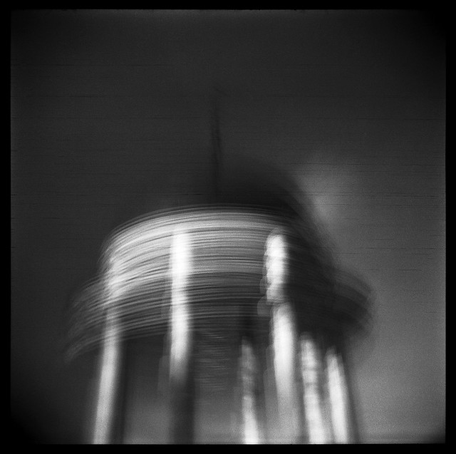 HOLGA #26. Unknown flying object