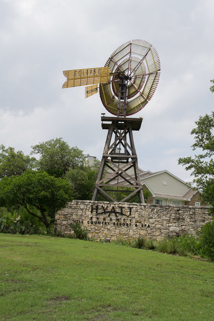 Entrance to Hyatt Hill Country Resort and Spa