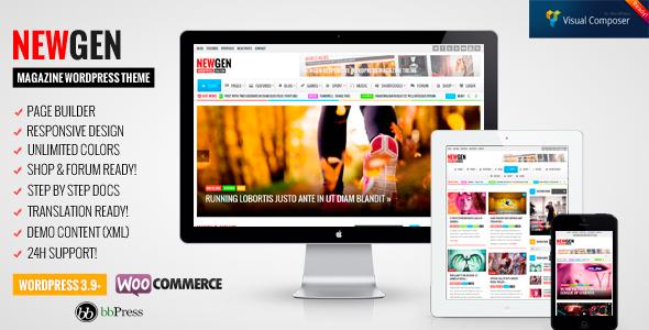 Newgen v1.9.1 - Responsive News/Magazine WordPress Theme