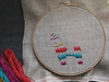 feeling stitchy birthday embroidery by nessy_huh