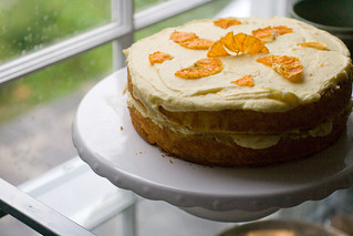 Orange Buttermilk Layer Cake by Savour Fare